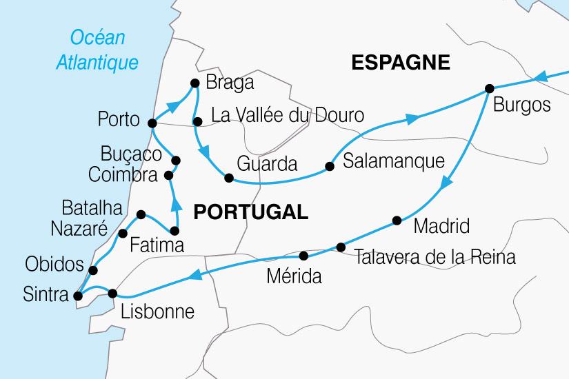 carte Portugal Tresors 264452