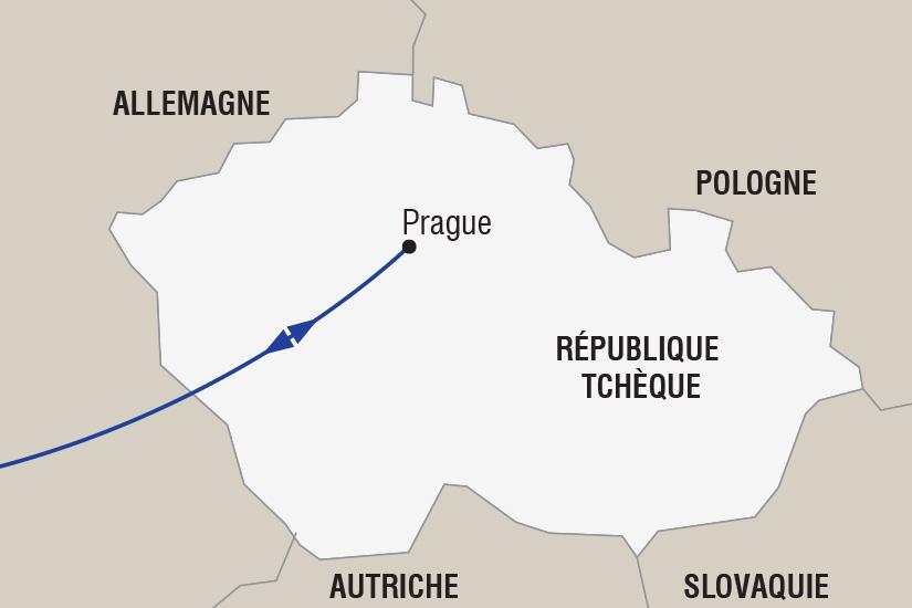 carte Republique Tcheque Marches de Noel a Prague depart est_306 352718