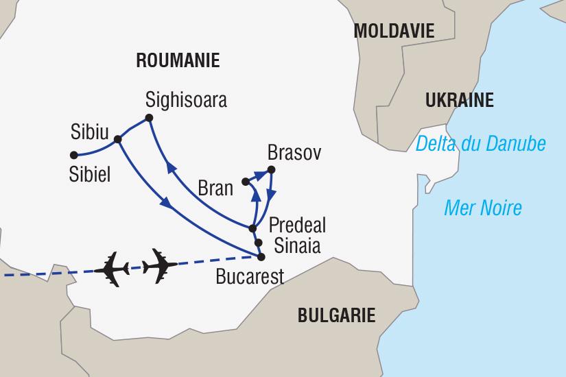carte Roumanie Marches de Noel_348 680467