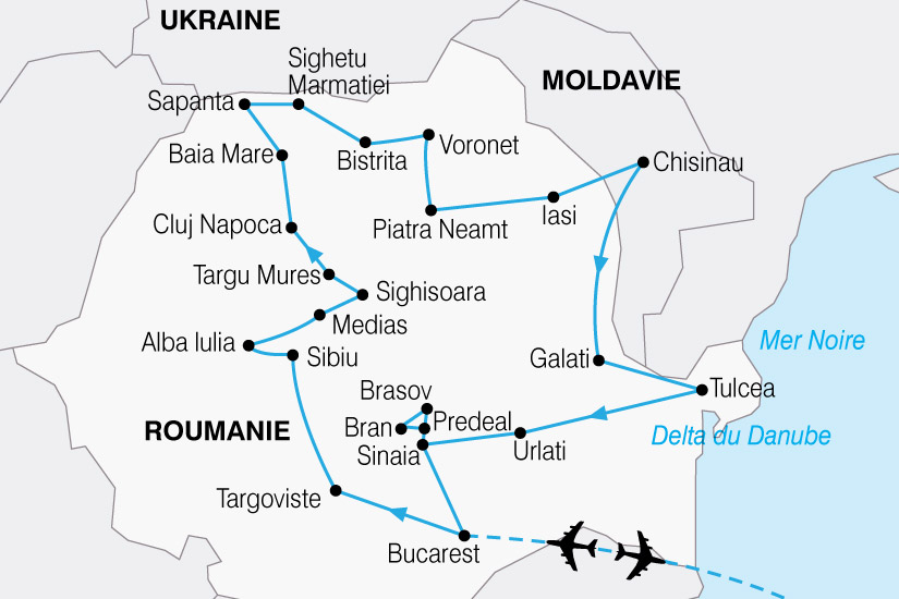 carte Roumanie Moldavie 203318