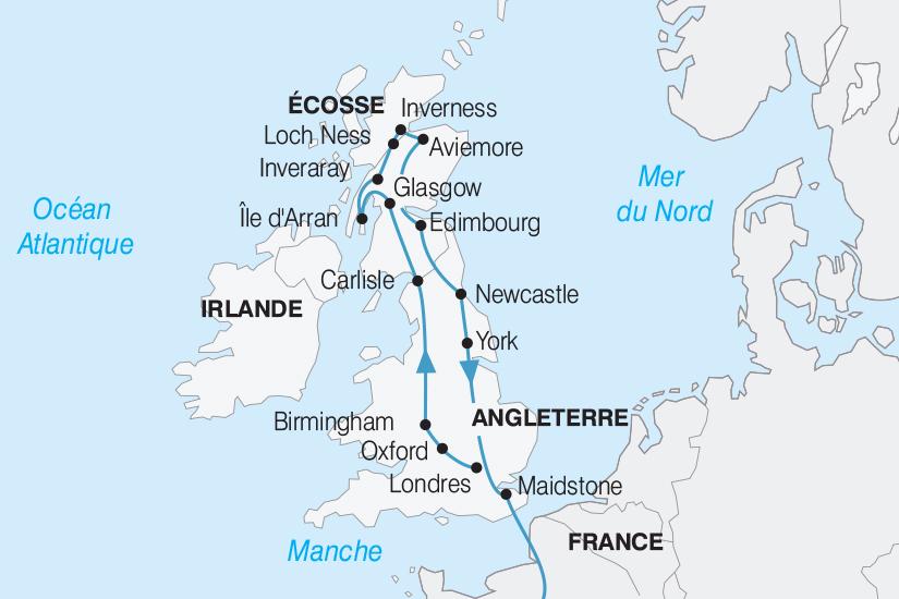 carte Royaume Uni L Angleterre et l Ecosse 2019_292 759847