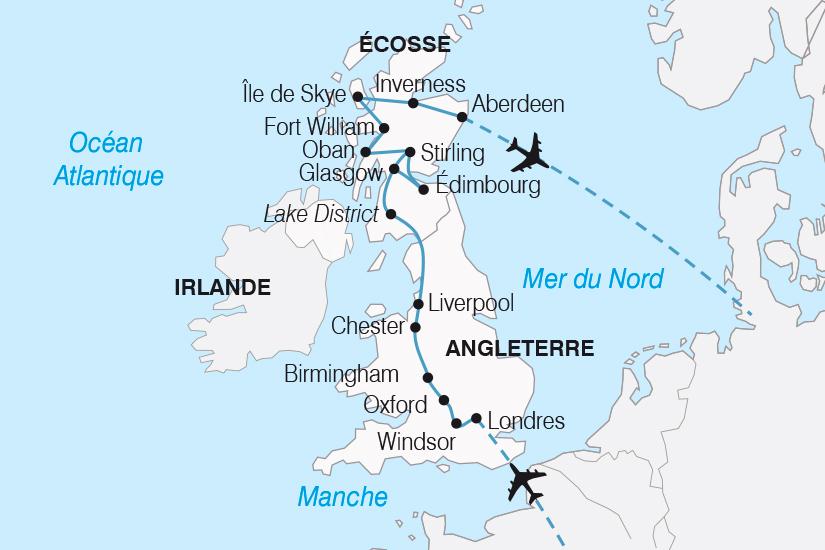 carte Royaume Uni L Angleterre et l Ecosse SH19 20_319 193364