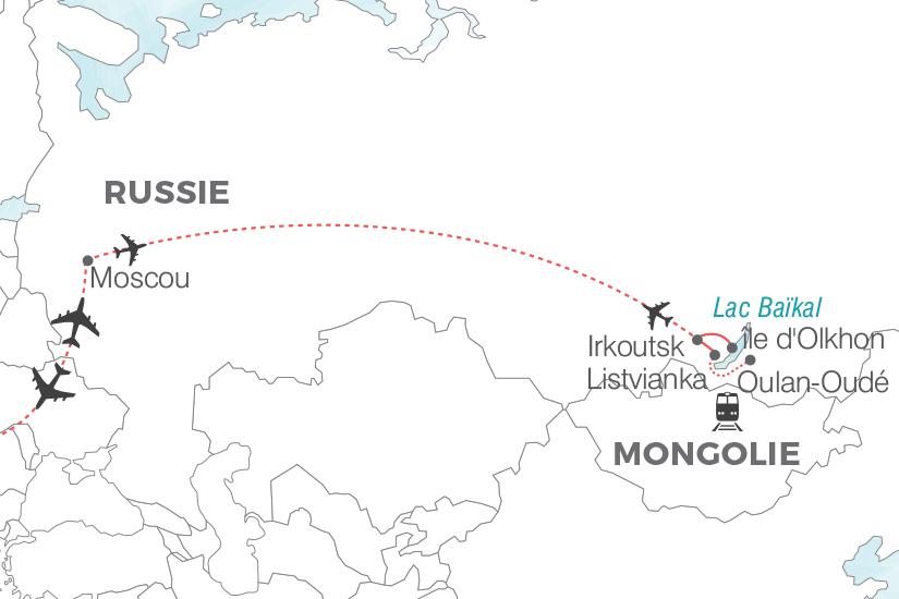 carte Russie Merveilles du lac Baikal Pouchkine Tours 19_286 790147