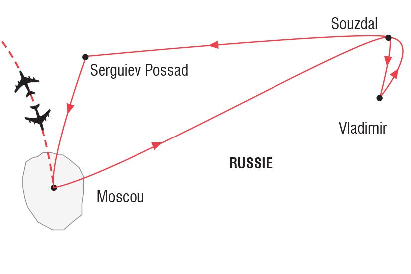 carte Russie Nouvel An Anneau d or_348 772614