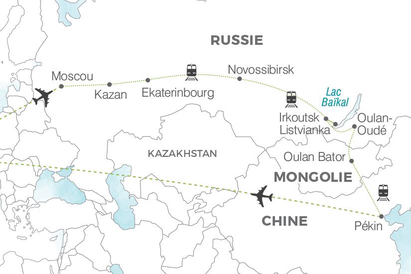 carte Russie Transsiberien L Or des tsars Pouchkine Tours 19_286 773278