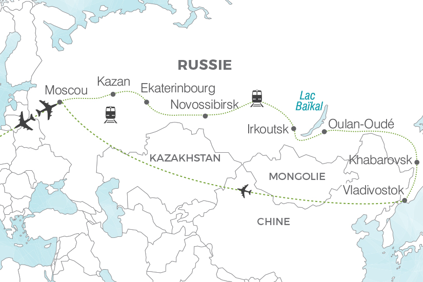 carte Russie Transsiberien La Russie Imperiale Pouchkine Tours 19_286 571785