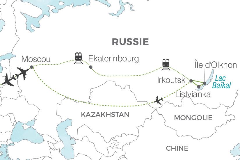 carte Russie Voyage dans le train de toutes les Russies Pouchkine Tours 19_286 536720