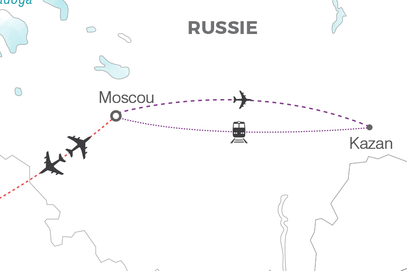 carte Russie Week end a Moscou extension Kazan Pouchkine Tours 20_340 693821