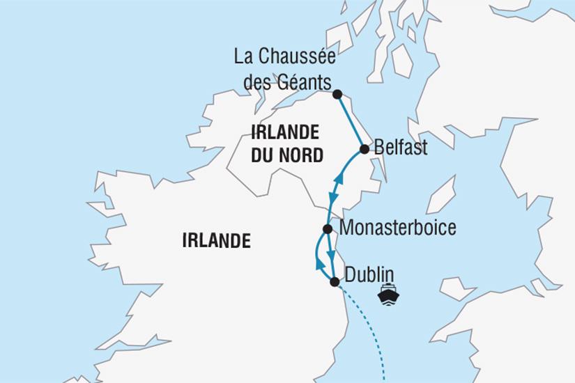 carte SaintPatrick Irlande_251 274433