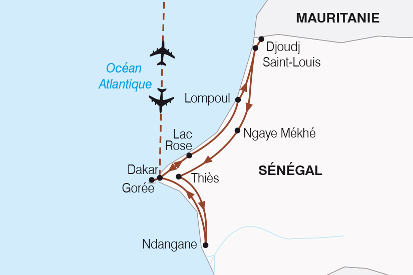 carte Senegal Le Senegal autrement SH20_339 508054