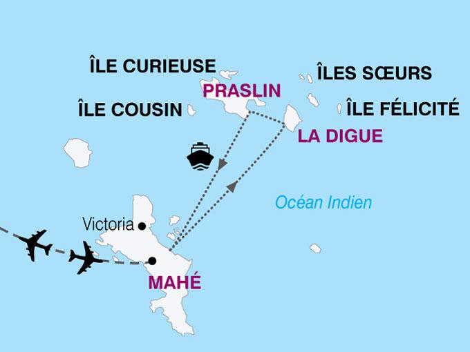 carte Seychelles  nthiver 116399
