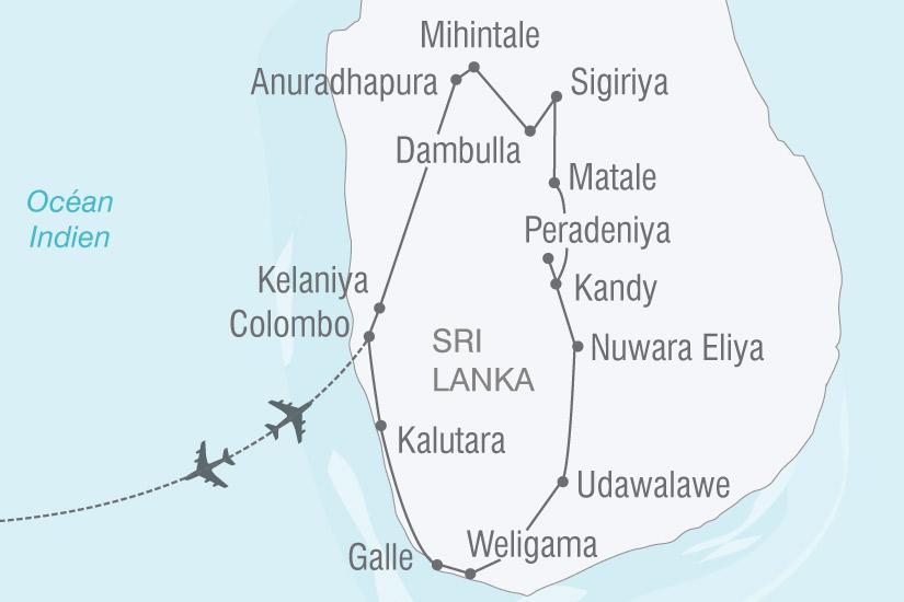 carte Sri Lanka ile joyaux  nthiver 103638