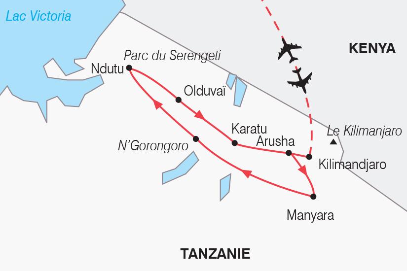 carte Tanzanie Noel en safari_306 476863