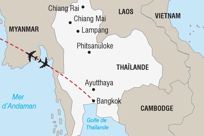 carte Thailande Nouvel An Bangkok_348 147608