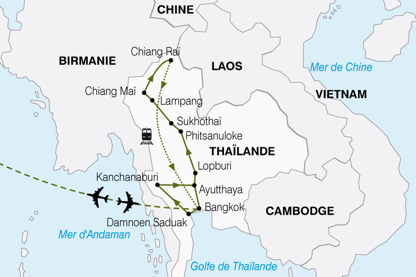 carte Thailande Visions 598145
