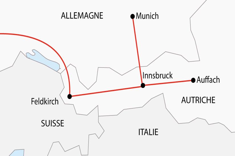 carte Transhumance Tyrol Fete de la Biere Munich depart sud 2019_297 536861