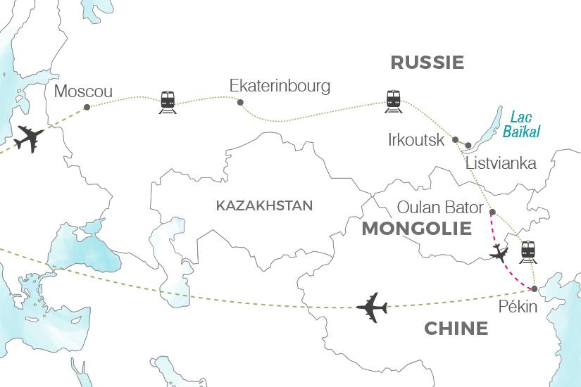 carte Transsiberien Voyage dans le train de tous les records Pouchkine Tours 20_340 442161