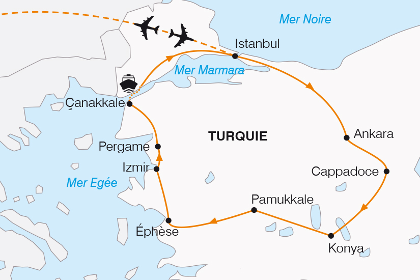 carte Turquie au carrefour de l Orient et de l Occident SH20_339 422526