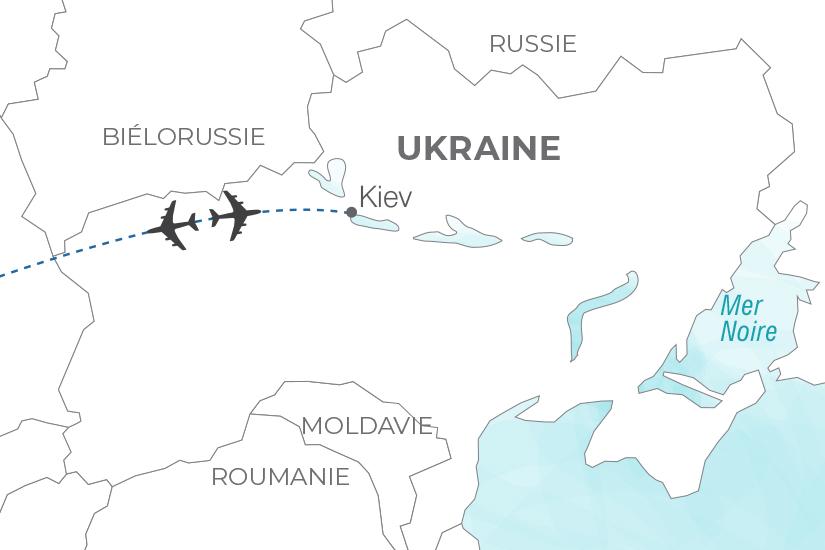 carte Ukraine Kiev passionnante capitale Pouchkine Tours 20_340 186119