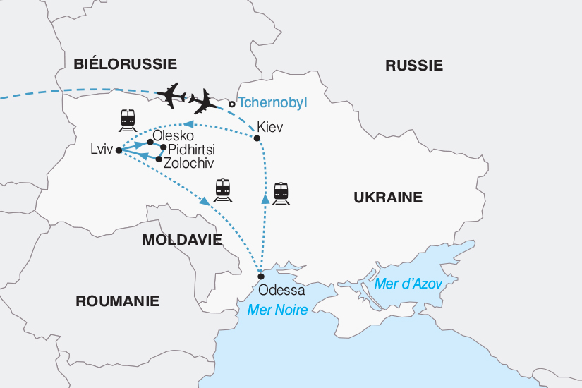 carte Ukraine Les tresors de l Ukraine 2018_267 727863