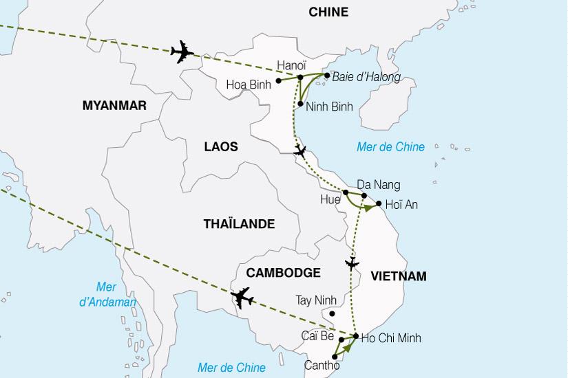 carte Vietnam LEssentiel 535981