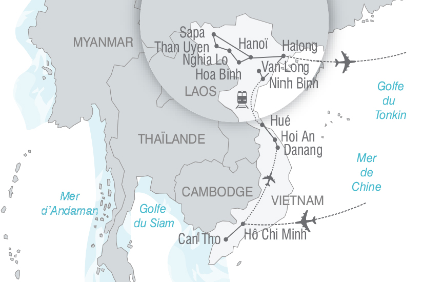 carte Vietnam Vietnam authentique nt 2018_261 567951