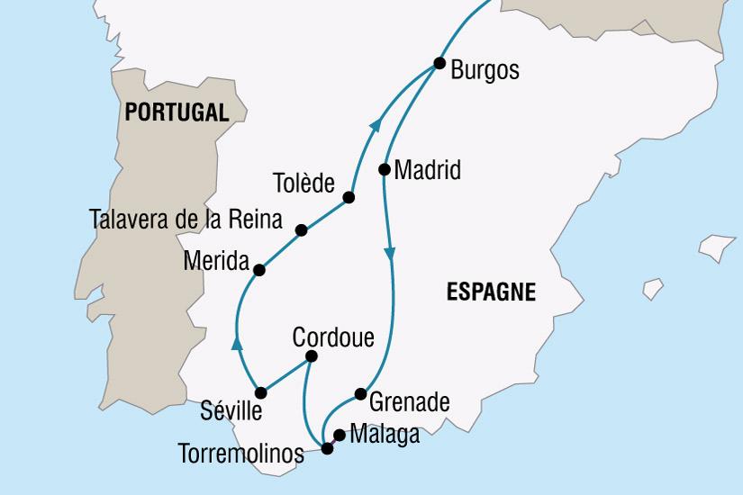 Andalousie Carte Didentite.La Semaine Sainte En Andalousie Lidl Voyages
