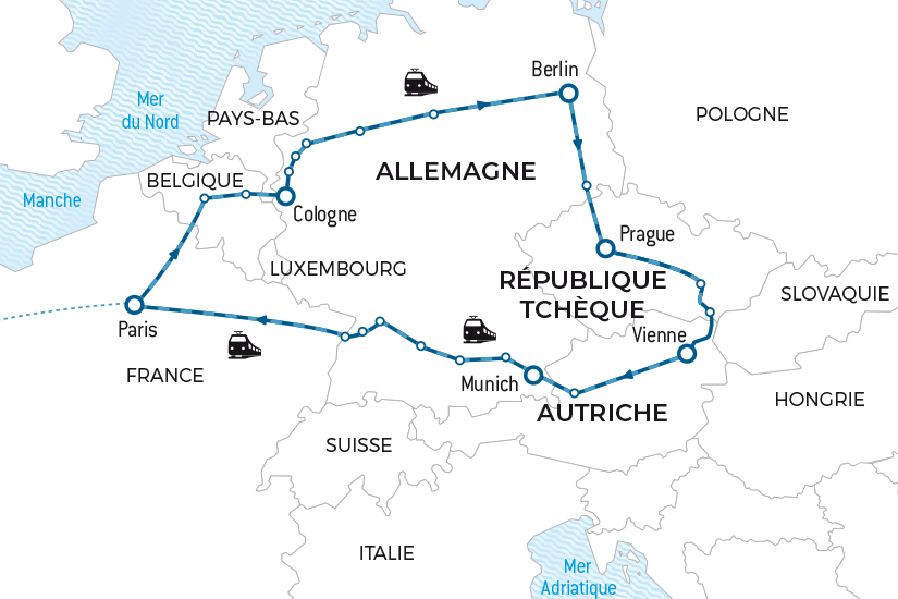 carte Voyage en train Europe Centrale Salaun bas carbone 20_338 570343