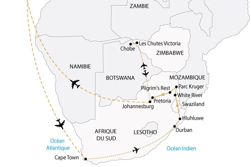 carte afrique australe cap bonne esperance victoria premium sh 2018_236 459167