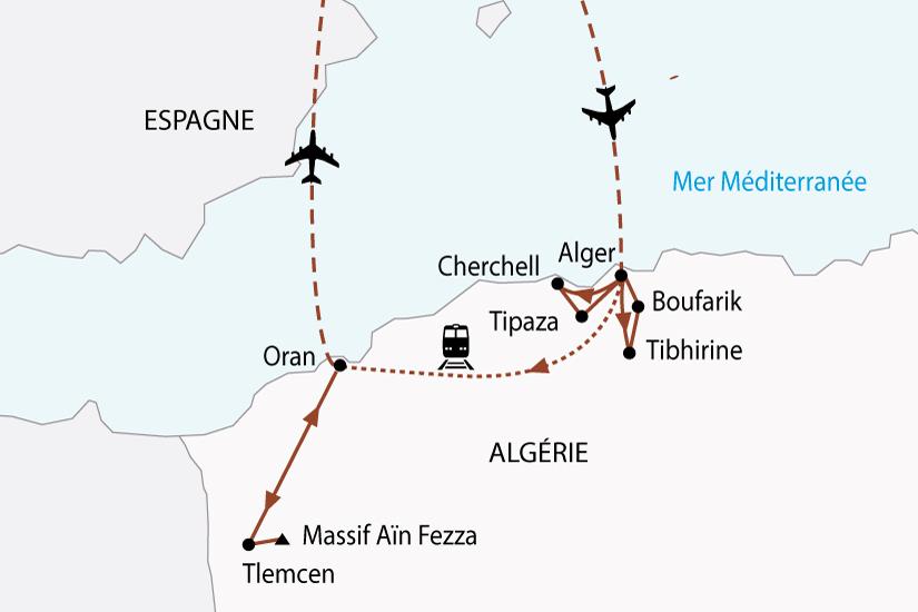 carte algerie alger oran sh 2018_236 651893