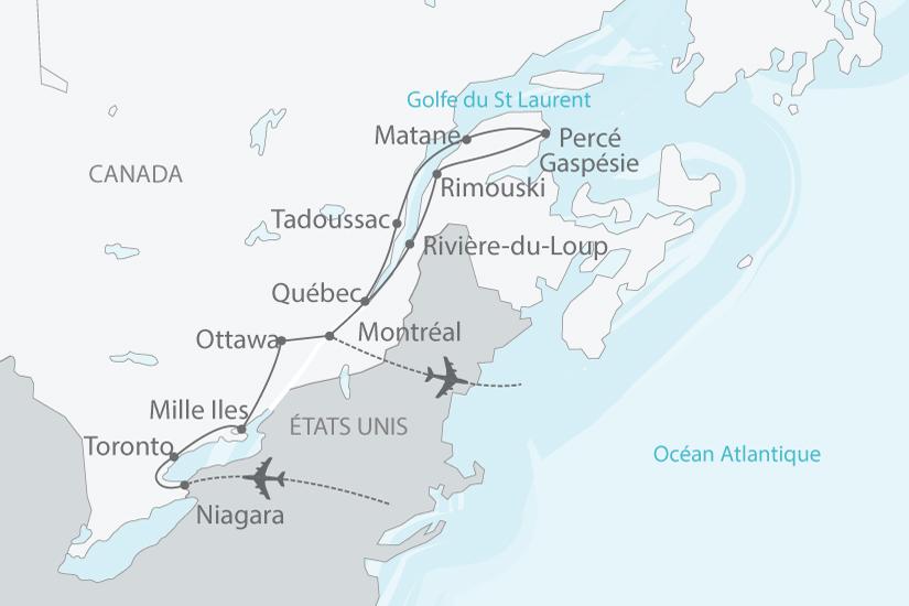 Le Canada et la Gaspésie, les belles provinces - Formule Premium - 8