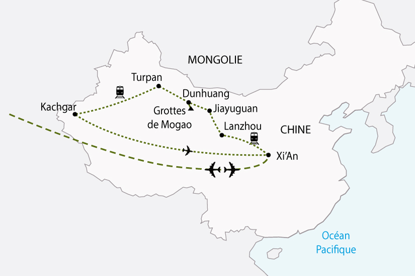 carte chine routedela soie sh 2018_236 518919