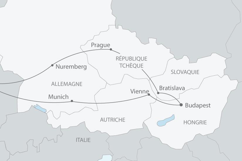carte europe centrale prague brastislava budapest vienne nt 2018_238 840599