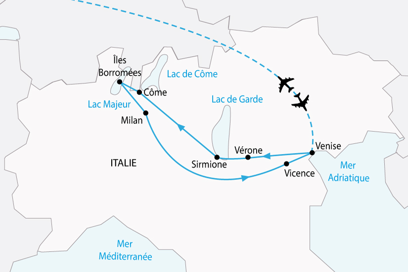 carte italie lac italien venise milan sh 2018_236 343408