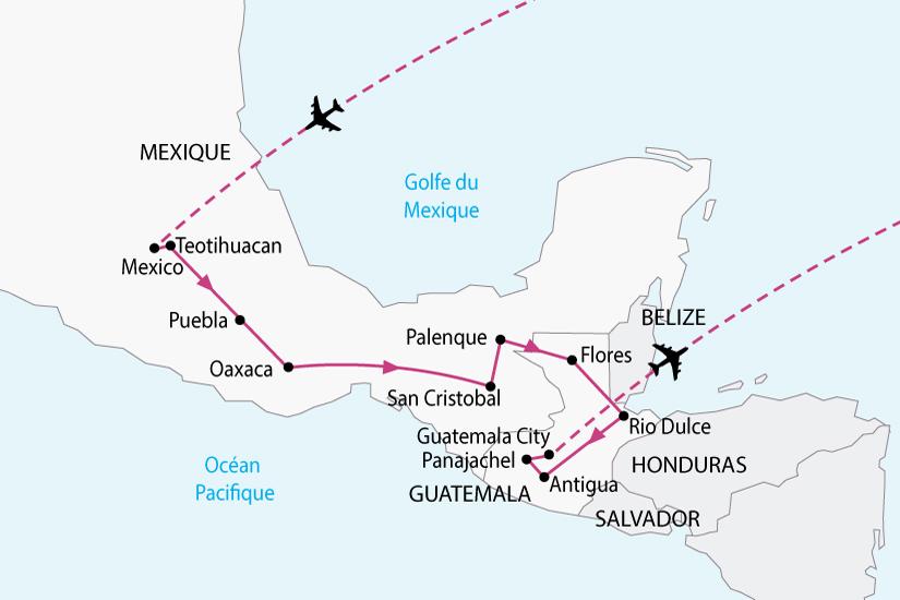 carte mexique guatemala tresors maya sh 2018_236 430538