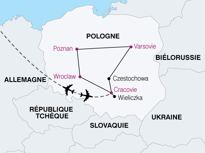 Pologne - Circuit Romantique Pologne