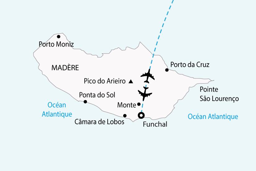 carte portugal madere fleurs sh 2018_236 115180