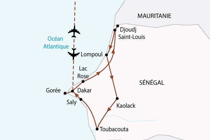 Circuit au Sénégal   Couleurs Tropicales du Sénégal 9 jours - Salaün ... c36903051f8