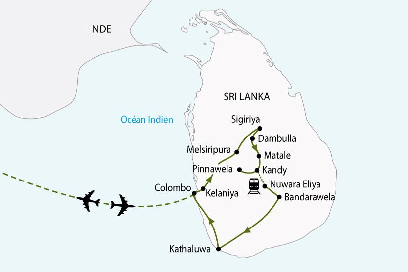 Sri Lanka - Circuit Sri Lanka, l'Île aux Joyaux