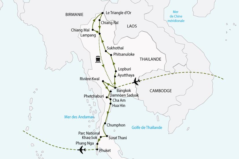 carte thailande nord sud sh 2018_236 857171