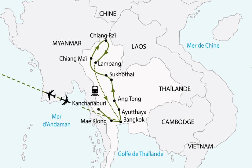 carte thailande royaume siam sh 2018_236 459243
