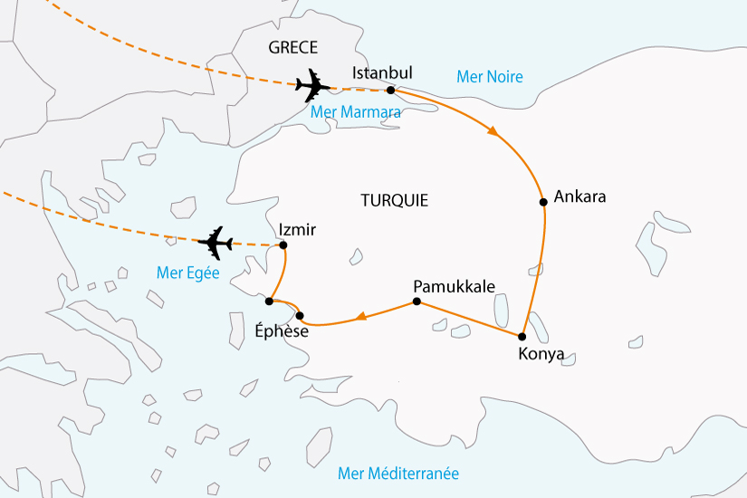 carte turquie splendeurs ottomanes sh 2018_236 103974