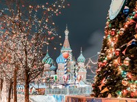 russie moscou place rouge