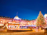 angleterre londres somerset house hiver  fotolia