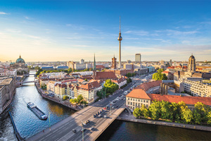 allemagne berlin tour de television et riviere spree 17 as_91600450