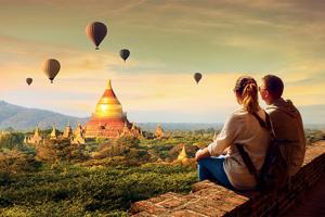 birmanie myanmar bagan montogolfieres 22 as_246149326