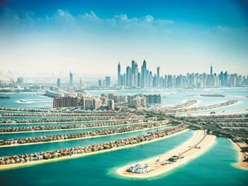 emirats arabes unis dubai vue ensemble