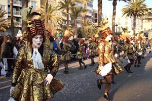vignette Espagne Lloret de mar carnaval