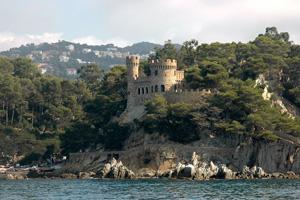 espagne lloret de mar chateau