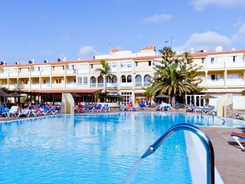 espagne fuerteventura playa park club vue ensemble
